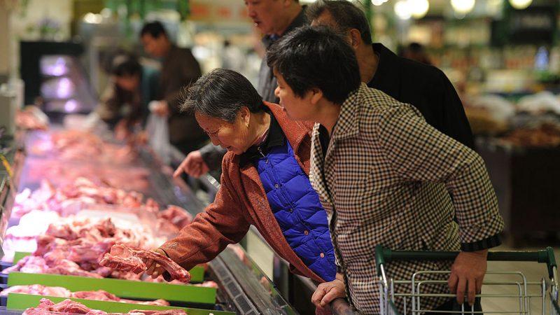 大陸豬肉供應全面告急 傳貴州縣城每天限量七隻