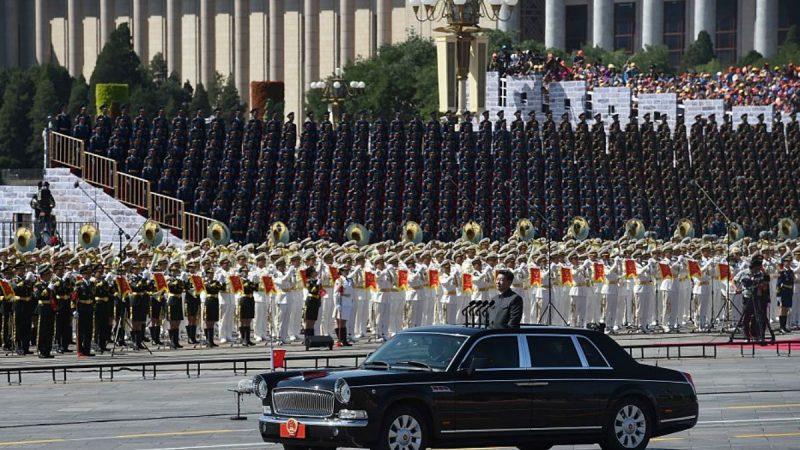 北京閱兵膽戰心驚 普通百姓不准靠近