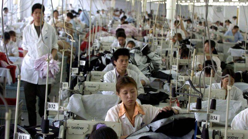 名牌撤离 中国25%运动服加工厂歇业
