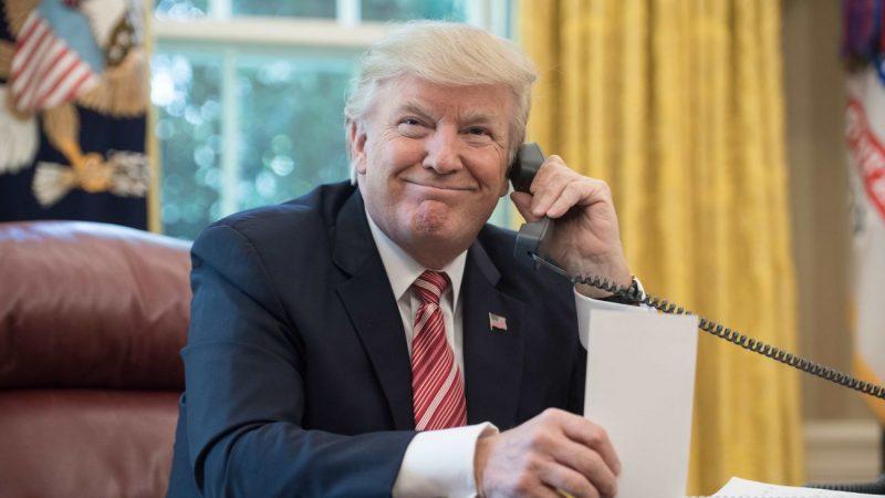 消息:道指大跌當天 川普曾電詢三大銀行CEO