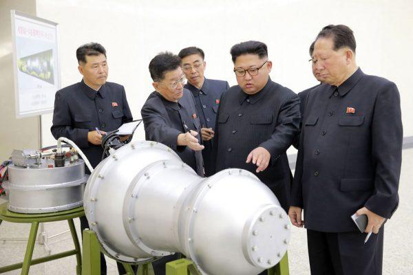日媒:日年度防衛報告 朝鮮已微型化核彈頭