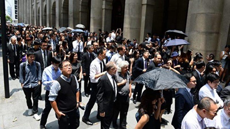 【直播回放】8月7日香港法律界反送中遊行