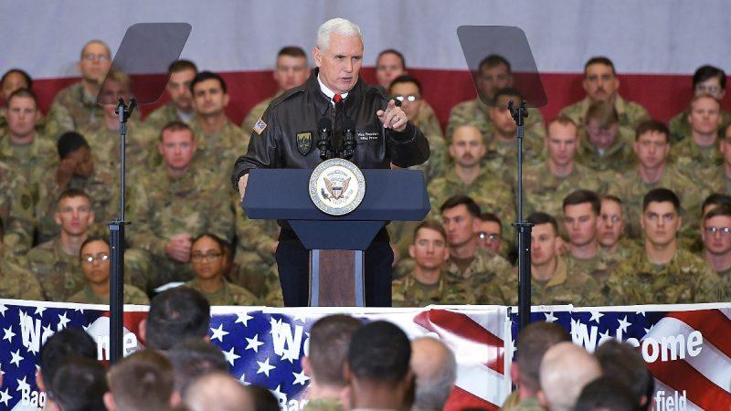 美与塔利班达成初步协议 准备从阿富汗撤军数千