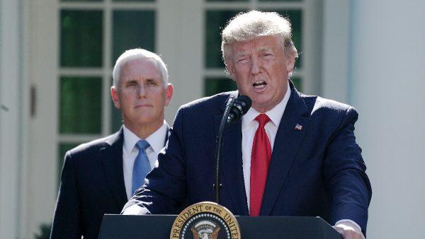 川普:美中即日举行贸易谈判 反击中共是入主白宫主因