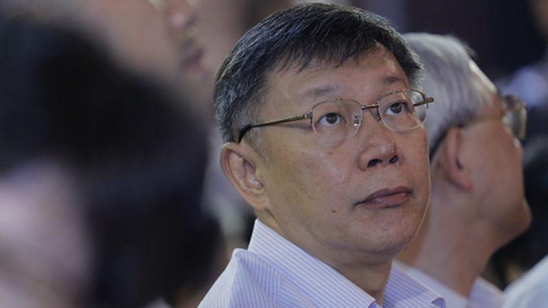 柯文哲:反送中恐蔓延广州 北京要严肃面对