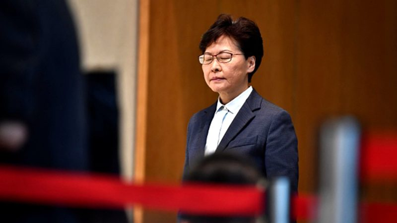 香港中文大學千人聯署 要求林鄭「講人話」(視頻)
