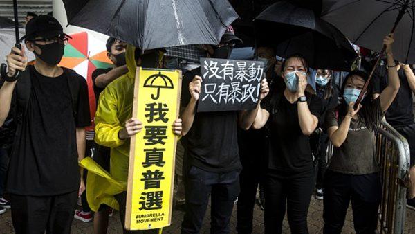 香港中资员工也要罢工:不怕打烂饭碗 无惧秋后算账