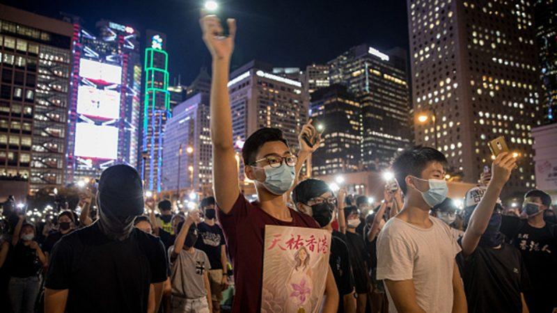 香港大学生罢课获中学生声援:自由比学习重要