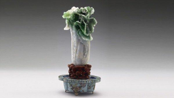 巧雕第一的翠玉白菜 竟是光绪妃子的嫁妆?