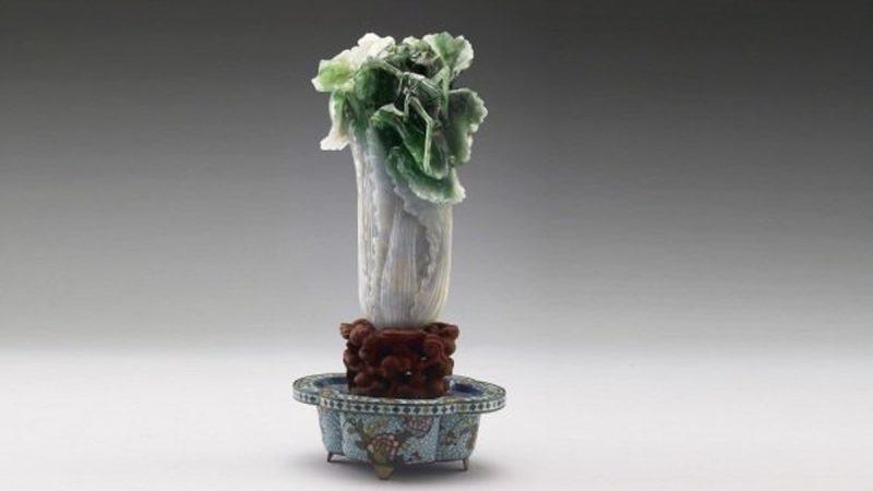 巧雕第一的翠玉白菜 竟是光緒妃子的嫁妝?