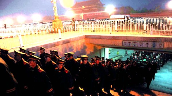 319兵變細節:武警部隊夜襲中南海 胡錦濤提前設伏