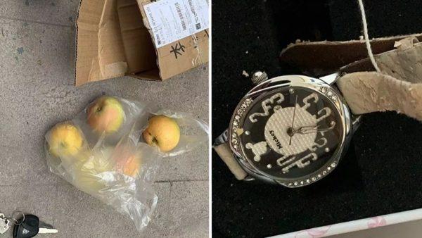 山東男網購二手蘋果手錶 收到4顆蘋果及兒童手錶