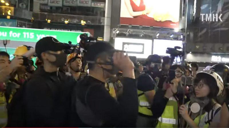 海关督察预警:数十大陆人携头盔黑衣口罩入关香港