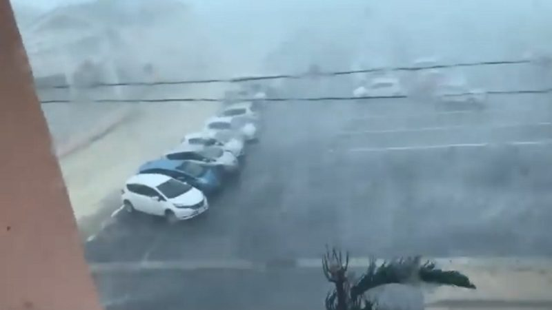 挾狂風暴雨直撲朝鮮半島 玲玲恐成數十年來最嚴重颱風