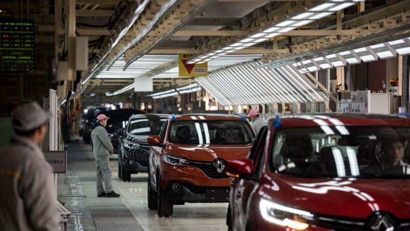 大陸17家上市車企 僅2家半年淨利增長