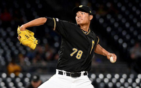 MLB海盜九局下逆轉秀 王維中幸運奪勝