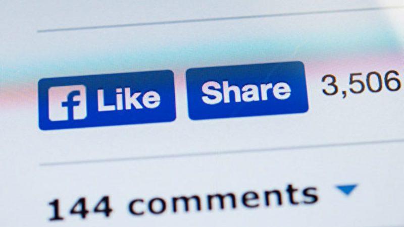 臉書人氣下降 或考慮隱藏按讚數
