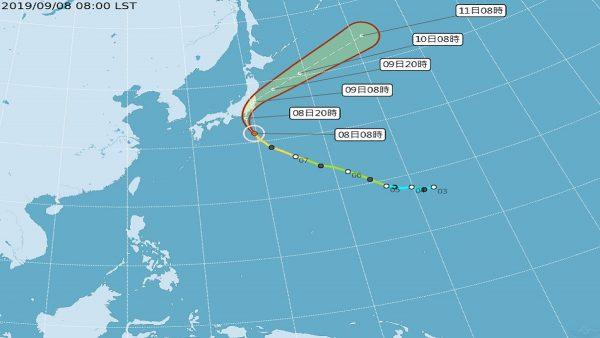 中颱法西直撲日本 東京恐遭「歷史性」強風豪雨