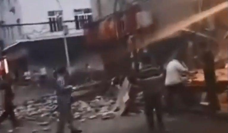 四川内江5.4地震 深度仅10公里至少28伤