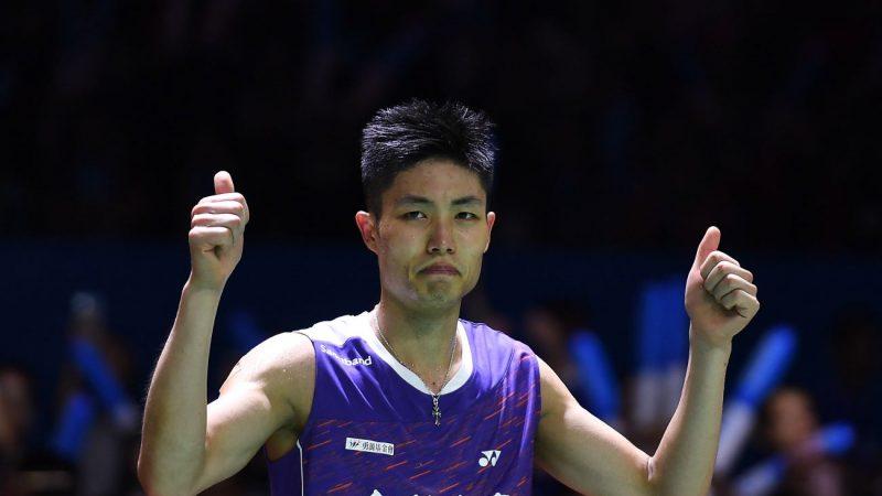 周天成退韓國選手 台北羽球公開賽奪冠