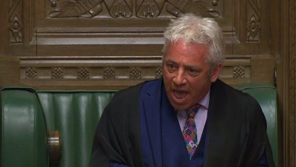 结束十年任期 英国会下院议长请辞