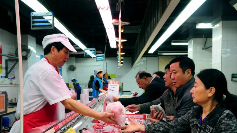 豬肉價飆升 繼福建後廣西再限購豬肉