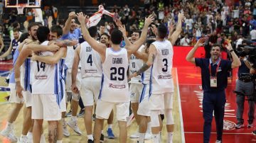 男篮世界杯 阿根廷淘汰夺冠大热晋级四强