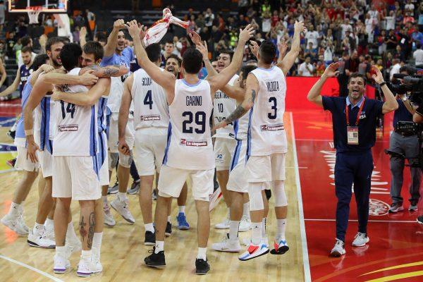 男籃世界盃 阿根廷淘汰奪冠大熱晉級四強
