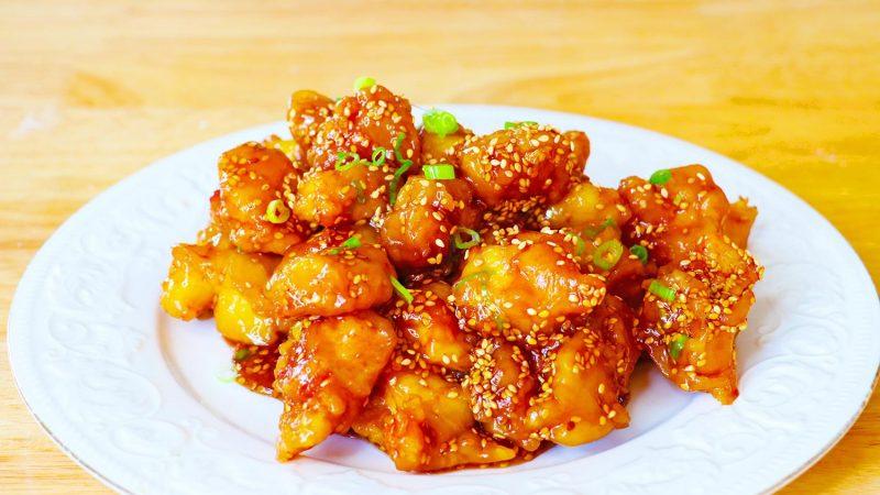 【美食天堂】家常料理食谱|美式中餐芝麻鸡~美国人的最爱!一学就会