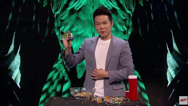 巧克力變魔方 台魔術師震撼《美國達人秀》(視頻)