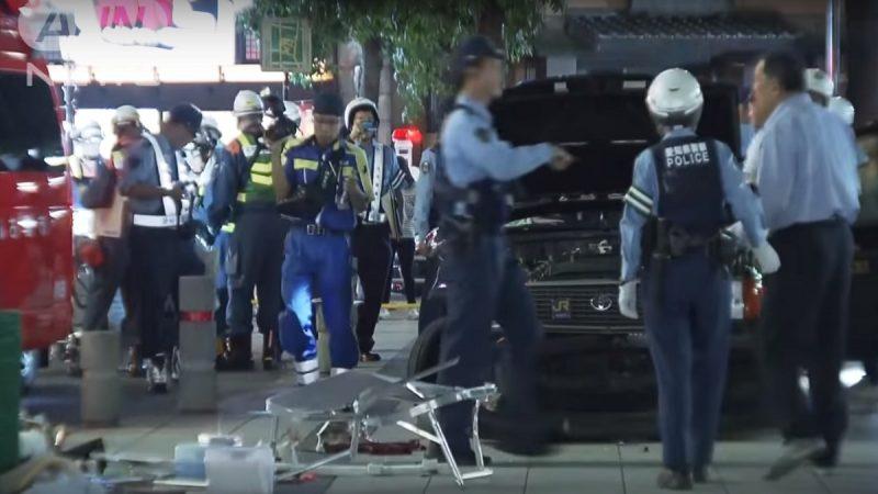 日本75岁高龄驾驶 冲上人行道撞人再后退酿7伤