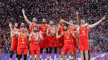 男篮世界杯:西班牙时隔13年后再度登顶