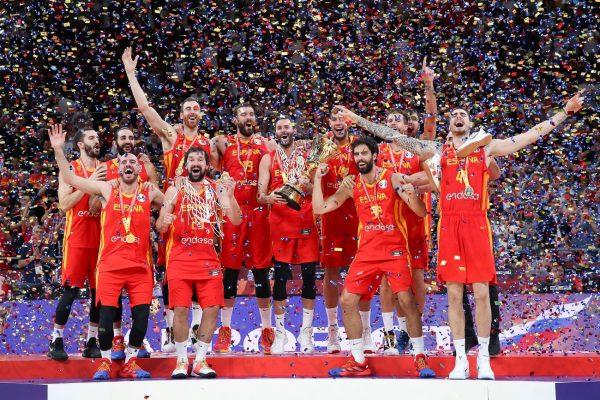 男籃世界盃:西班牙時隔13年後再度登頂
