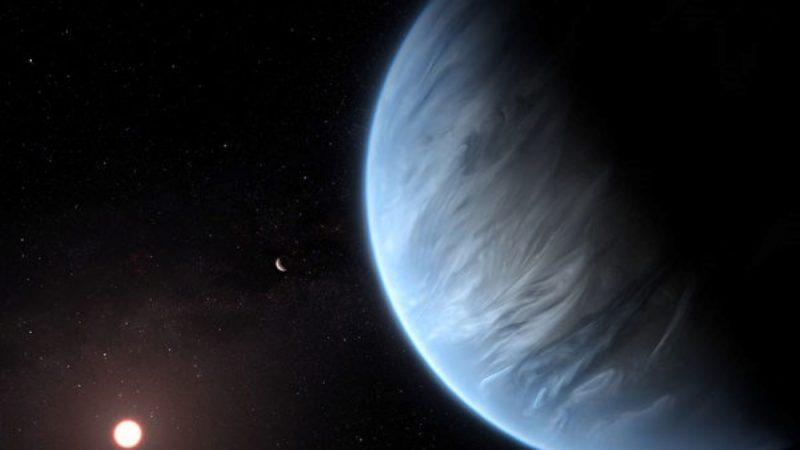 首度发现 适居太阳系外行星大气中有水存在