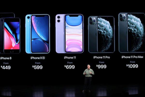 iPhone 11和数款苹果新旧手机 你该选哪款
