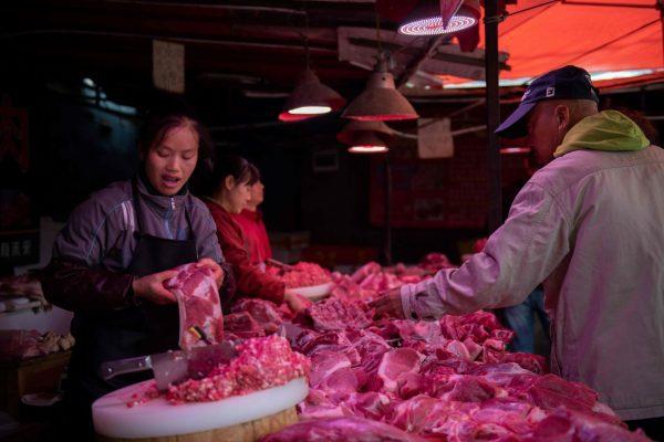 大陸豬肉價上週飆漲4.1% 牛羊肉價皆漲