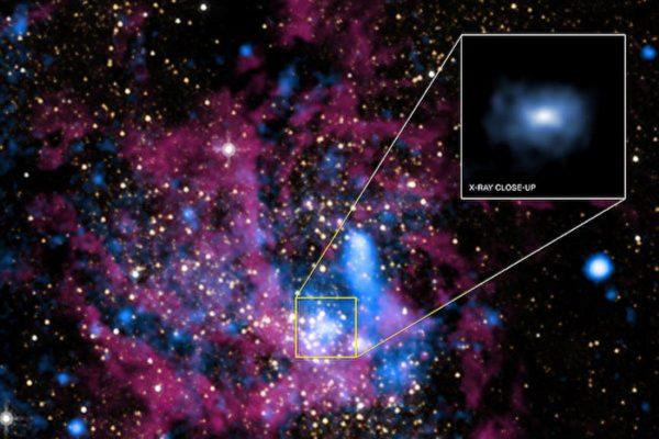 銀河系中央超級黑洞食量大增 原因不明