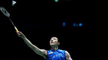 中國羽球公開賽 王子維直落二晉級將強碰諶龍