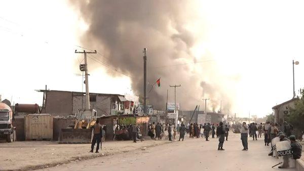 美與塔利班和談之際 喀布爾爆炸16死119傷