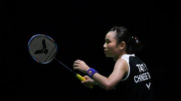 中國羽球公開賽 戴資穎周天成輕鬆晉級