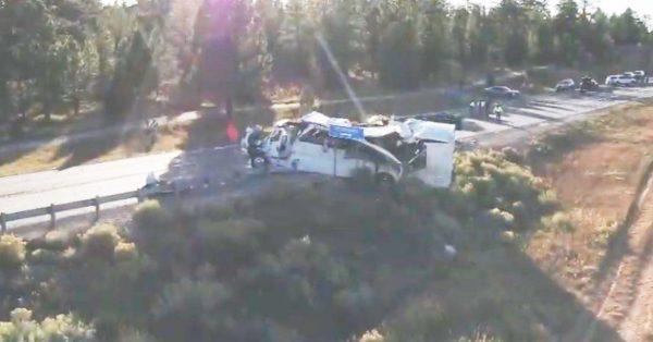 美猶他州車禍釀4死15重傷 旅客來自中國上海