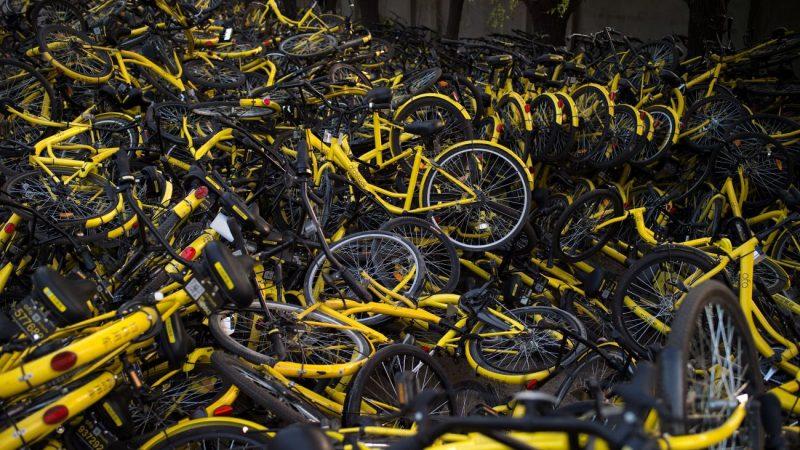 共享单车衰落后 大陆自行车厂挣扎求生