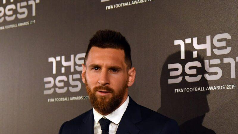 阿根廷球星梅西六獲世界足壇最佳球員獎