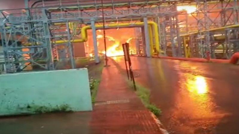印度國營天然氣轟隆大火 釀7死2傷
