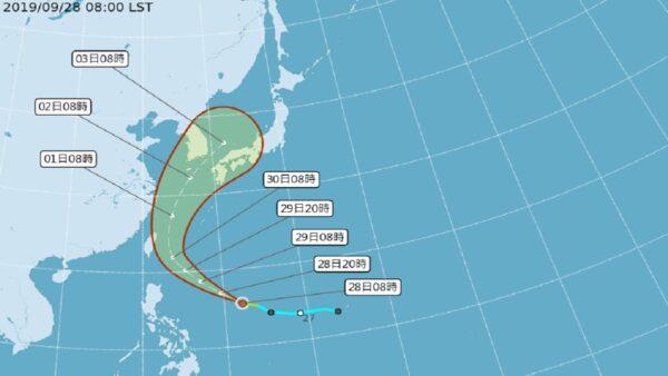 米塔或增強中颱撲日 台北北基防豪雨
