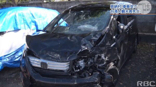台一家三口自駕遊沖繩車禍 50歲母親傷重身亡