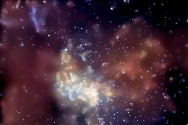 天文學家發現 三個巨大黑洞發生罕見碰撞