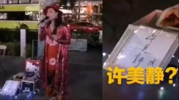 《城裡的月光》許美靜 被爆淪落街頭賣藝?