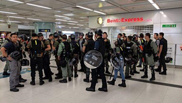 【直播回放】9.22香港沙田新城市廣場抗爭實況