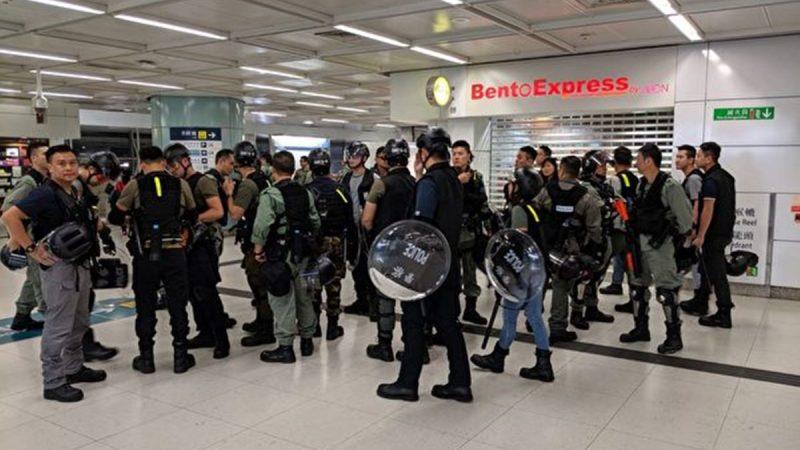 【直播回放】9.22香港沙田新城市广场抗争实况